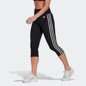 Adidas Climalite High-Rise 3-Stripes Leggings